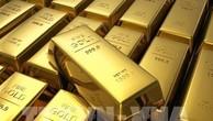 Giá vàng giao kỳ hạn của Mỹ tăng nhẹ. Ảnh minh họa: AFP/TTXVN