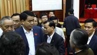Tướng Chung lần đầu tiếp xúc cử tri trên cương vị Chủ tịch Hà Nội