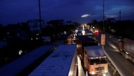 Cấm xe tải lớn đi QL5 chiều từ Hà Nội về Hải Phòng để sửa đường