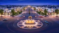 Đại lộ Khải Hoàn nằm trong Khu đô thị phức hợp - cảnh quan Cát Tường Phú Hưng