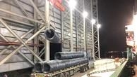 6.000 tấn thép cuộn chất lượng cao được Hòa Phát xuất khẩu sang Nhật Bản vào ngày 19/5/2019 (ảnh: HP)