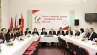 Chủ tịch Quốc hội gặp Chủ tịch Đảng Cộng sản Czech-Morava