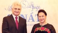 Chủ tịch Quốc hội Việt Nam hội đàm với Chủ tịch Thượng viện Cộng hòa Czech