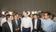 Chủ tịch nước kiểm tra dự án Trung tâm Tổ chức Hội nghị APEC