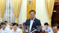 Phó chủ nhiệm Ủy ban Tài chính và Ngân sách của Quốc hội Nguyễn Hữu Quang. Ảnh: Nguyên Linh-TTXVN