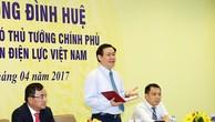 Phó Thủ tướng Vương Đình Huệ phát biểu tại buổi làm việc. Ảnh: VGP