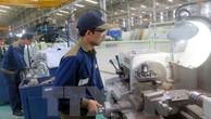 Công nhân sản xuất cơ khí ôtô tại Khu kinh tế mở Chu Lai. Ảnh: TTXVN