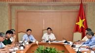 Phó Thủ tướng Trịnh Đình Dũng chủ trì cuộc họp lần thứ 10 BCĐ Nhà nước về điều tra cơ bản tài nguyên-môi trường biển. Ảnh: VGP