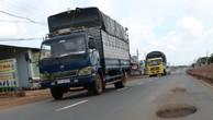 Bình Phước yêu cầu sửa đường trăm tỷ vừa nâng cấp đã hư hỏng