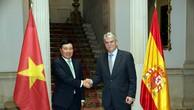 Phó Thủ tướng Phạm Bình Minh hội kiến Nhà vua, hội đàm với Ngoại trưởng Tây Ban Nha