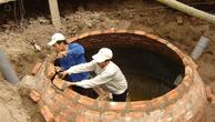 Xây hầm khí sinh học (biogas)