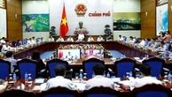 Phó Thủ tướng Thường trực Trương Hoà Bình chủ trì cuộc họp trực tuyến toàn quốc sơ kết công tác CCHC) 6 tháng đầu năm 2017 và công bố Chỉ số PAR INDEX 2016. Ảnh: VGP