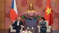 Việt Nam, Czech tiếp tục thúc đẩy quan hệ hợp tác giữa cơ quan lập pháp