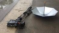 Khởi tố điều tra vụ xe ô tô đâm hỏng máy quay phim của phóng viên Đài Truyền hình Việt Nam