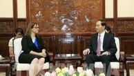 Chủ tịch nước Trần Đại Quang tiếp Đại sứ Israel