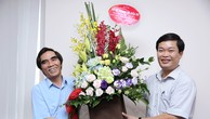 Thứ trưởng Nguyễn Văn Trung chúc mừng Báo Đấu thầu nhân dịp 21/6