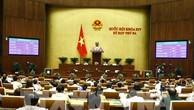 Quốc hội thông qua hai dự án Luật