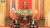 Việt Nam và Haiti tăng cường quan hệ song phương