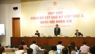 Bế mạc kỳ họp thứ 3 Quốc hội khóa IX