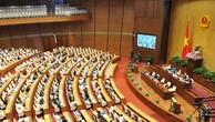 Công bố các nghị quyết của Quốc hội