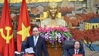 Thủ tướng Nguyễn Xuân Phúc phát biểu chỉ đạo tại buổi làm việc với Thành ủy TP. Hải Phòng về tình hình kinh tế-xã hội. Ảnh: VGP