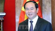 Chủ tịch nước Trần Đại Quang trả lời phỏng vấn báo chí Nga