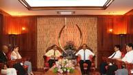 Phó Thủ tướng Thường trực Chính phủ Trương Hòa Bình tiếp đoàn Hội Doanh nhân Việt Nam tại Australia. Ảnh: VGP