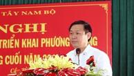 Phó Thủ tướng Chính phủ Vương Đình Huệ phát biểu tại hội nghị. Ảnh: VGP