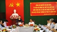 Chủ tịch Quốc hội Nguyễn Thị Kim Ngân làm việc tại Quảng Ngãi