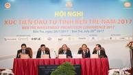 Thủ tướng Nguyễn Xuân Phúc dự Hội nghị xúc tiến đầu tư tỉnh Bến Tre 2017. Ảnh: VGP