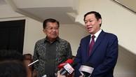 Thắt chặt quan hệ hợp tác Việt Nam, Indonesia