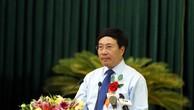 Phó Thủ tướng Phạm Bình Minh phát biểu tại hội nghị biểu dương người có công tiêu biểu và các tập thể, cá nhân có nhiều thành tích trong phong trào đền ơn đáp nghĩa của tỉnh Thanh Hóa. Ảnh: VGP