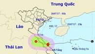 Bão giật cấp 9-10 đi vào Quảng Bình, Quảng Trị