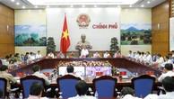 Phó Thủ tướng Thường trực Chính phủ Trương Hòa Bình chủ trị Hội nghị trực tuyến toàn quốc sơ kết công tác phòng chống tội phạm. Ảnh: VGP