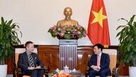 Phó Thủ tướng, Bộ trưởng Bộ Ngoại giao Phạm Bình Minh tiếp Đại sứ Cộng hòa Czech Vitezslav Grepl. Ảnh: VGP