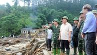 Bộ Tài nguyên và Môi trường khảo sát tình hình mưa lũ
