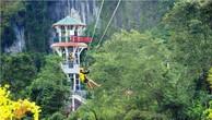 Xây dựng hệ thống dây đu zipline dài nhất thế giới ở Phong Nha