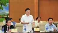 Phó Thủ tướng Trịnh Đình Dũng phát biểu tại phiên chất vấn - Ảnh: VGP
