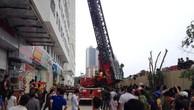 Một vụ cháy chung cư trên địa bàn Hà Nội. Ảnh minh họa