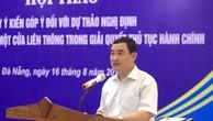 Ông Nguyễn Xuân Thành kỳ vọng, Nghị định sẽ tạo cơ sở pháp lý đồng bộ, thống nhất để triển khai có hiệu quả việc giải quyết TTHC theo cơ chế một cửa liên thông tại các cơ quan hành chính Nhà nước. Ảnh VGP