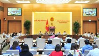 Phiên họp UBTVQH ngày 17/8 - Ảnh: VGP