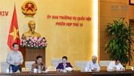 Phó Chủ tịch Quốc hội Phùng Quốc Hiển điều hành phiên họp. Ảnh: quochoi.vn