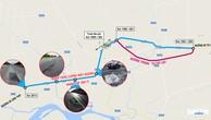 Vị trí các điểm sụt lún, bong tróc trên đoạn quốc lộ 1A vừa được Công ty TNHH Đầu tư quốc lộ Tiền Giang (doanh nghiệp Dự án BOT Cai Lậy) cải tạo lại để thu phí - Đồ họa: Nam Trần - Hữu Thuận
