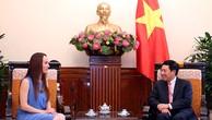Phó Thủ tướng Phạm Bình Minh tiếp Chủ tịch Ủy ban Đối ngoại Thượng viện Mexico