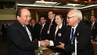 Thủ tướng gặp gỡ doanh nhân Việt kiều tại Thái Lan. Ảnh: VGP