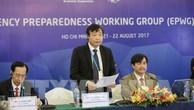 Ông Trần Quang Hoài, Tổng cục trưởng Tổng cục phòng, chống thiên tai – Bộ Nông nghiệp và Phát triển Nông thôn phát biểu khai mạc cuộc họp. Ảnh: TTXVN