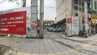 Khu đất Dự án tòa nhà WesternBank, 1A Láng Hạ, Hà Nội đến nay trở thành bãi đỗ xe