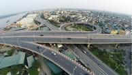 Cầu Vĩnh Tuy (giai đoạn 1) được đưa vào khai thác sử dụng từ năm 2010