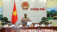 Phó Thủ tướng Thường trực Chính phủ Trương Hoà Bình phát biểu chỉ đạo tại Phiên họp. Ảnh: VGP