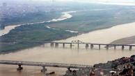Toàn cảnh cầu Long Biên và cầu Chương Dương bắc qua sông Hồng. Ảnh: TTXVN